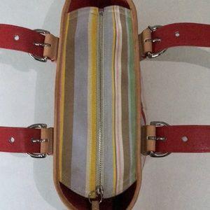 Coach Bags - Coach striped bucket bag🌟💖🌟